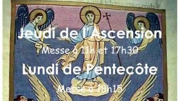 Permalien vers:Ascension et Pentecôte 2018