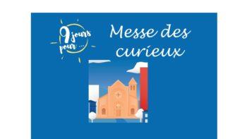 Permalien vers:Messe des curieux – 16 juin 2019 à 11h et à 19h30