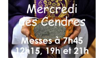 Permalien vers:Mercredi des Cendres – 26 février 2020