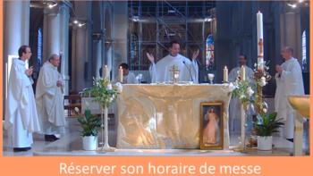 Permalien vers:Réserver votre place à la messe